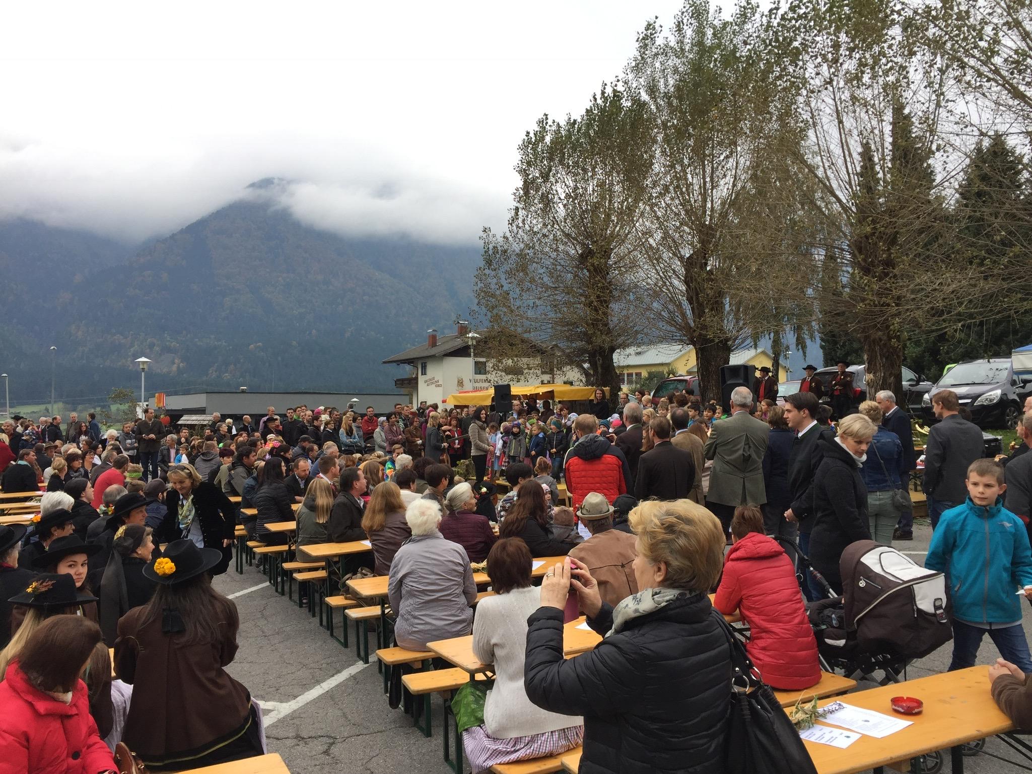 Kirchbacher-Apfelfest-Besucher