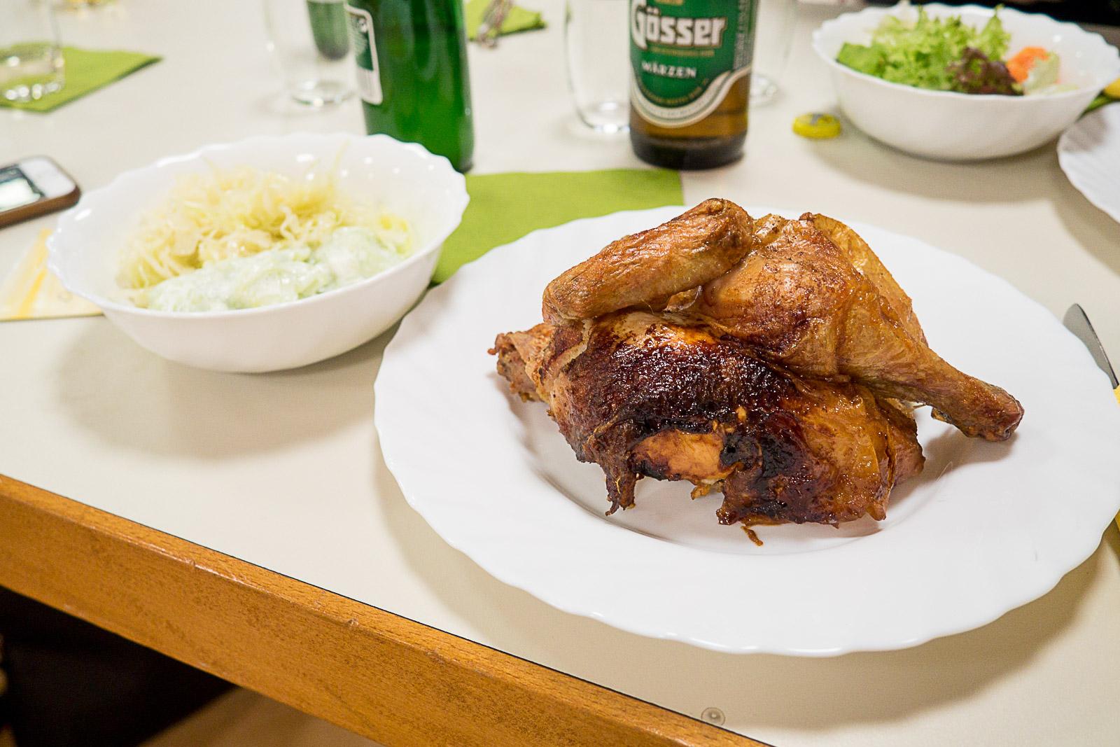 leckeres Huhn