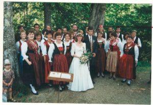 Hochzeit: Michaela und Michael Brandstätter in Maria Schnee